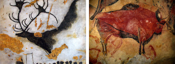 Some of the earliest known preserved examples of human expression.